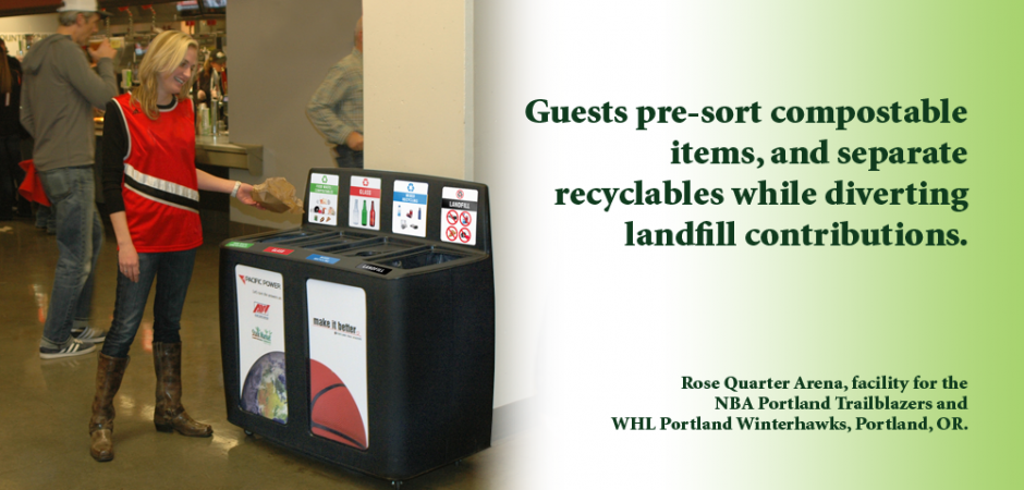 Improving Guest Experience with GreenDrop Recycling