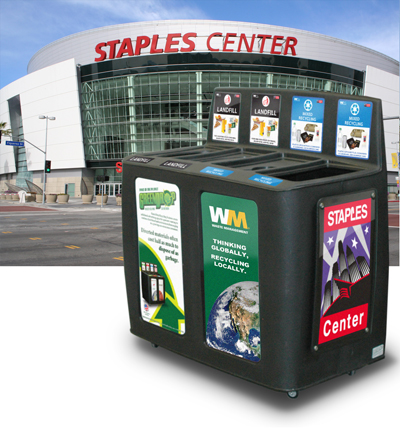 GreenDrop at the STAPLES Center